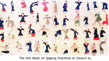 early qigong picture - The Silk Book